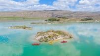 OLTA - Bozkirin Ortasindaki Göl Her Yönüyle Dikkat Çekiyor