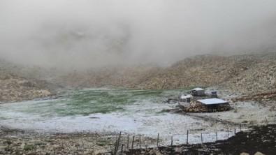 Burası Türkiye'nin en sıcak şehirlerinde biri! Haziran'da kar
