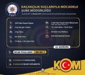 KAÇAK ALKOL - Izmir'de 1 Milyon Lira Piyasa Degerinde Kaçak Ürün Ele Geçirildi
