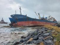 DEMIRLI - Kartal'da Halati Kopan Gemi, Baska Bir Gemiye Çarpti
