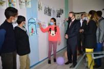 HÜSEYIN ÖNER - Köy Okulunda Görsel Sanatlar Atölyesi Açilisi Yapildi