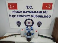 KAÇAK ALKOL - Simav'da Kaçak Alkol Operasyonu
