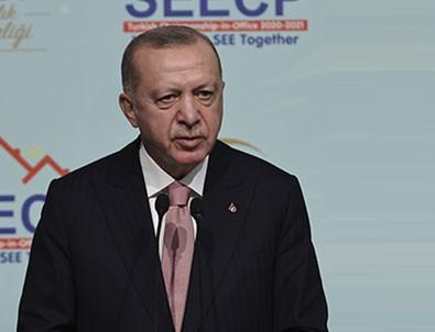 Cumhurbaşkanı Erdoğan: 'Bölgedeki siyasi sorunlar için diyalogdan başka çözüm yok'