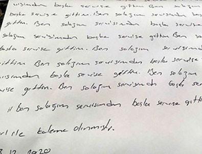Hemşirelere 'Ben salağım' yazdıran başhekim Ayşegül Alkan'a dava açıldı!