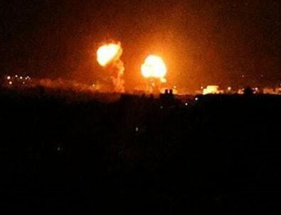 İşgalci İsrail yine saldırdı!