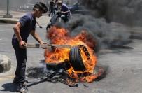 GREV - Lübnan'da Genel Isçi Sendikasi'nin Çagrisi Üzerine Greve Gidildi