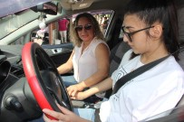 ARAÇ KULLANMAK - (Özel) Kadin Sürücü Egitmenleri Mersinli Kadinlarin Gözdesi Oldu