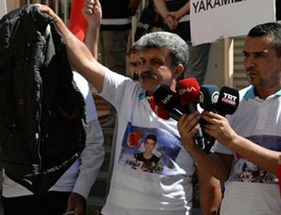 Dağa kaçırılan oğlunun montu HDP binasından çıktı!
