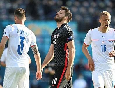 Hırvatistan ve Çekya puanları paylaştı!