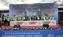 KAZıM ÖZGAN - CHP'nin temel atma töreni şaşkına çevirdi: 10 başkan 1 kreş