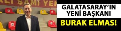 Galatasaray 38. Başkanı Burak Elmas oldu!
