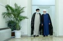 HASAN RUHANİ - Ruhani, Cumhurbaskanligi Seçiminin Galibi Reisi'yi Makaminda Ziyaret Etti