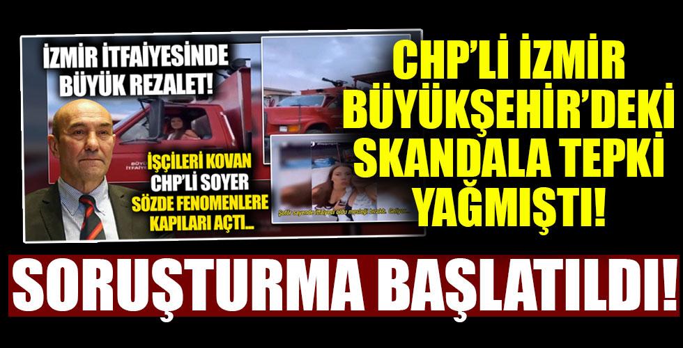 İzmir'deki skandalla ilgili soruşturma başlatıldı!
