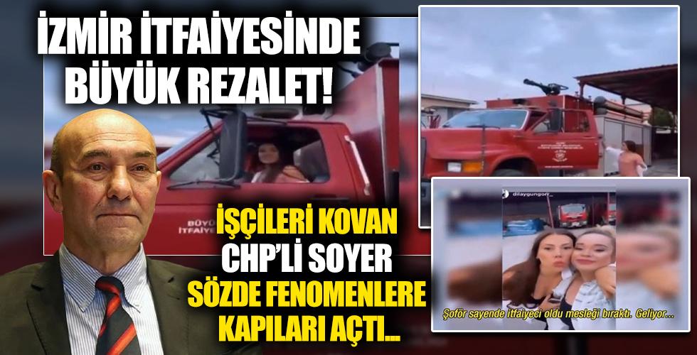 İzmir itfaiyesinde skandal görüntüler! Bunun sorumlusu kim?