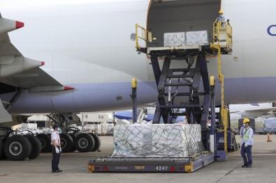 ABD'nin Gönderdigi  2.5 Milyon Doz Moderna Asisi Tayvan'a Ulasti