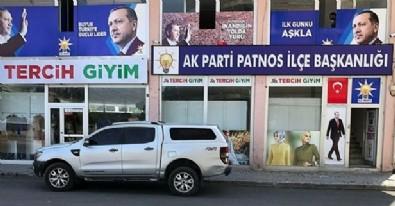 AK Parti'nin ilçe başkanlığına molotoflu saldırı!