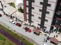 GÖKMEN - (Özel) Afyonkarahisar'da Asi Kuyrugu Havadan Görüntülendi
