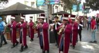EURO 2020 - Türkiye - Isviçre Maçi Öncesi Bakü Sokaklari Mehter Marsi Ile Inledi