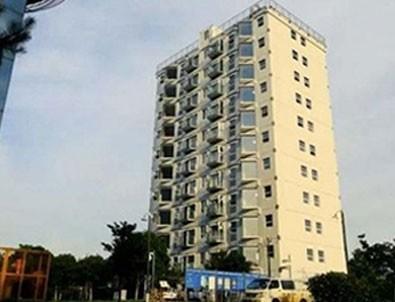 28 saatte 10 katlı bina inşa edildi! Dünya bunu konuşuyor!