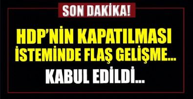 HDP iddianemesinde flaş gelişme!