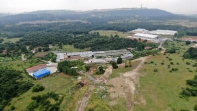 İYİ Partili Lütfü Türkkan'ın Kocaeli Dilovası'ndaki kaçak çiftliği yıkım öncesi tahliye ediliyor