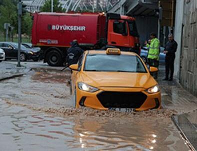 Ankara'yı yağmur bastı!