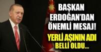 RECEP TAYYİP ERDOĞAN - Yerli aşıda Faz 3 çalışması başladı! Başkan Erdoğan'dan flaş açıklamalar