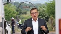 LÜTFÜ TÜRKKAN - İYİ Partili Lütfü Türkkan'ın korumaları gazeteciye saldırdı