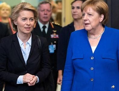 Merkel ve Von der Leyen'den Türkiye'ye destek açıklaması!
