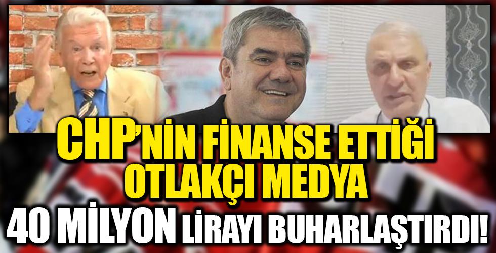 CHP'nin finanse ettiği medya, 40 milyon lirayı buharlaştırdı