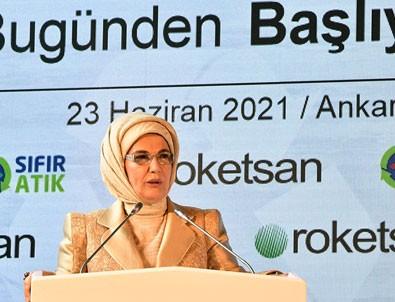 Emine Erdoğan rakamları açıkladı! Sıfır Atık Projesi'nde dev başarı!