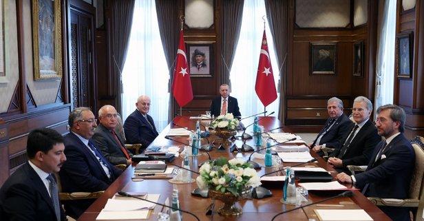 Kurul, Başkan Erdoğan liderliğinde toplandı!