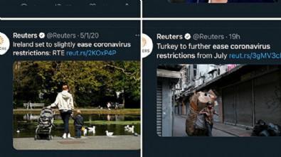 Reuters'tan yeni algı çalışması: Türkiye'deki normalleşme tarihlerini bu fotoğrafla duyurdular