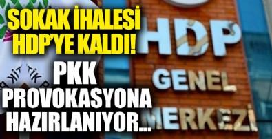 Sokak ihalesi HDP'ye kaldı