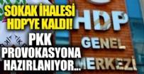 İZMİR  - Sokak ihalesi HDP'ye kaldı
