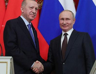 Başkan Erdoğan, Putin'le görüştü!