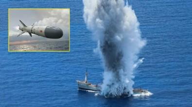 Dev gemiyi enkaza çevirdi: Yunanistan'ı korkutan Türk deniz füzesi göreve hazır