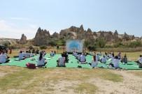 GÖREME - Hindistanlilar Uluslararasi Yoga Günü'nü Kapadokya'da Kutladi