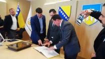 SARAYBOSNA - Konya Karatay Belediyesi, Saraybosna'nin Novi Grad Belediyesiyle Kardes Oldu