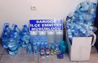 KAÇAK ALKOL - Sarigöl'de Kaçak Alkole Suçüstü