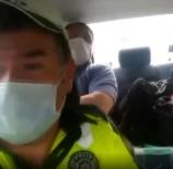 GÖRME ENGELLİ - Görme Engelli Vatandasi YKS Sinavina Polis Ekipleri Götürdü