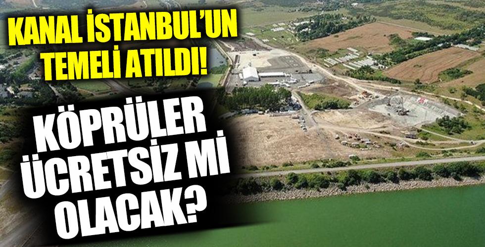 Karayolları Genel Müdürü açıkladı: Kanal İstanbul'daki köprüler ücretsiz olacak