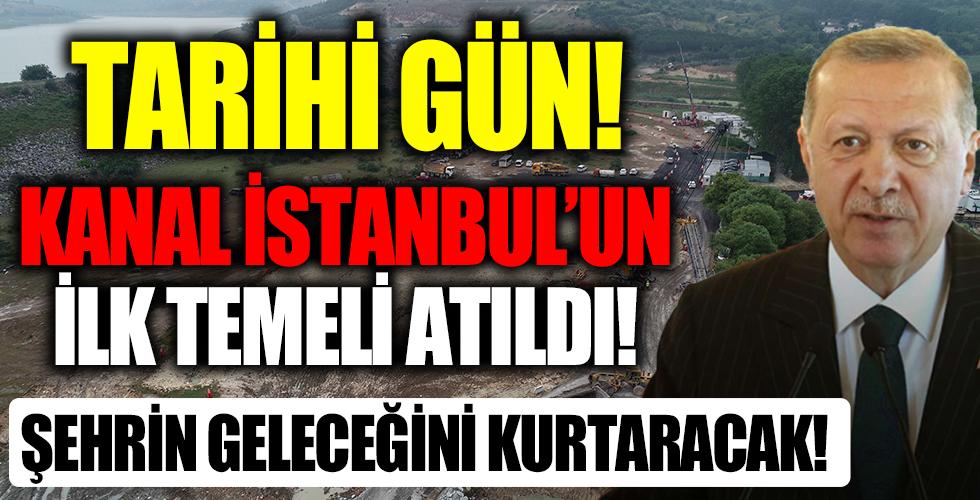 Çılgın proje için tarihi gün! Kanal İstanbul'un temeli Başkan Erdoğan'ın katılımıyla atılıyor