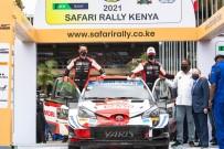 KENYA - Dünya Ralli Sampiyonasi'nda Zirve Yine Sebastien Ogier'nin