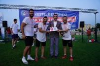 VURGUN - Bursa'nin Ilk Ayak Tenisi Turnuvasi Kestel'de Gerçeklesti