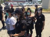 ÇELİK YELEK - Kadinli Suç Örgütüne 10 Tutuklama