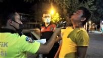 ARAÇ KULLANMAK - Polisin Alkollü Sürücüyle Imtihani Açiklamasi 'Cigerlerim Yetmiyor Abi'