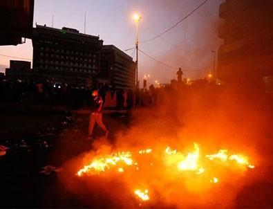 Bağdat'ta şiddetli patlama! Ölü ve yaralılar var!