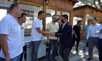 SERKAN ACAR - Aliagaspor FK, Çeyrek Final Öncesi Taraftariyla Bulustu