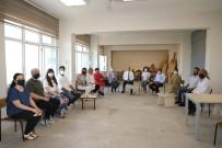 TİYATRO - Baskan Özlü'den, Güzel Sanatlar Fakültesine Ziyaret